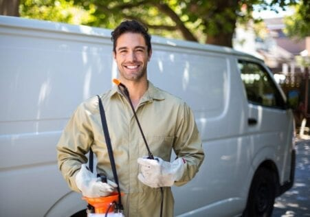 Contact us for pest control